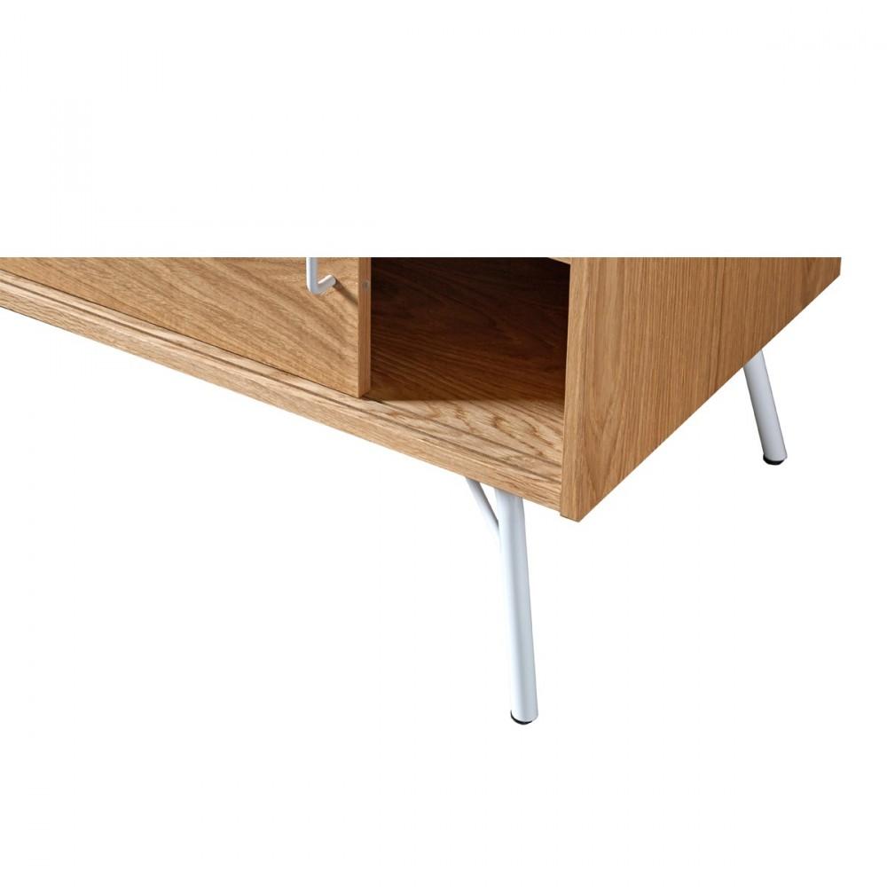 Meuble Tv Metal Fly : Meuble Tv Design Et Pratique Ashburn – Drawerfr