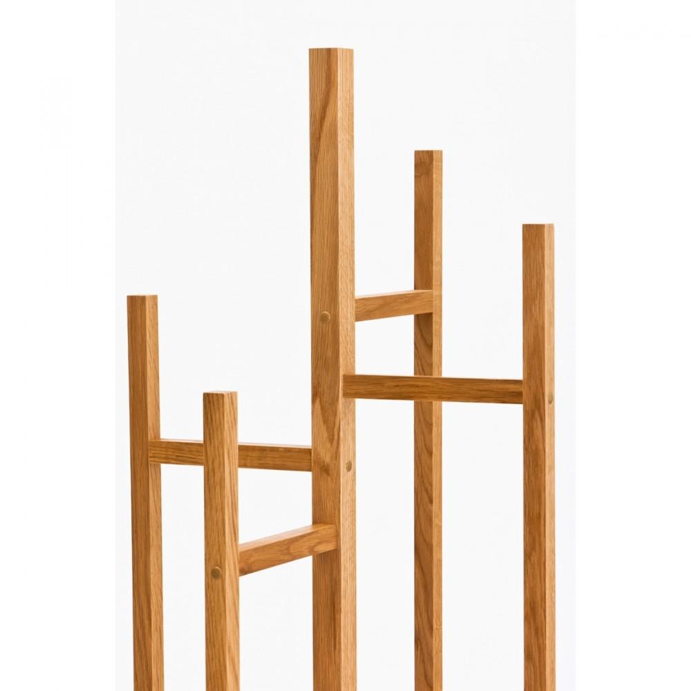 Porte manteaux en bois design par for Porte manteau moderne