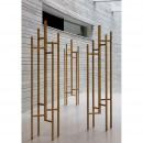 Porte-manteau design bois massif Eigen