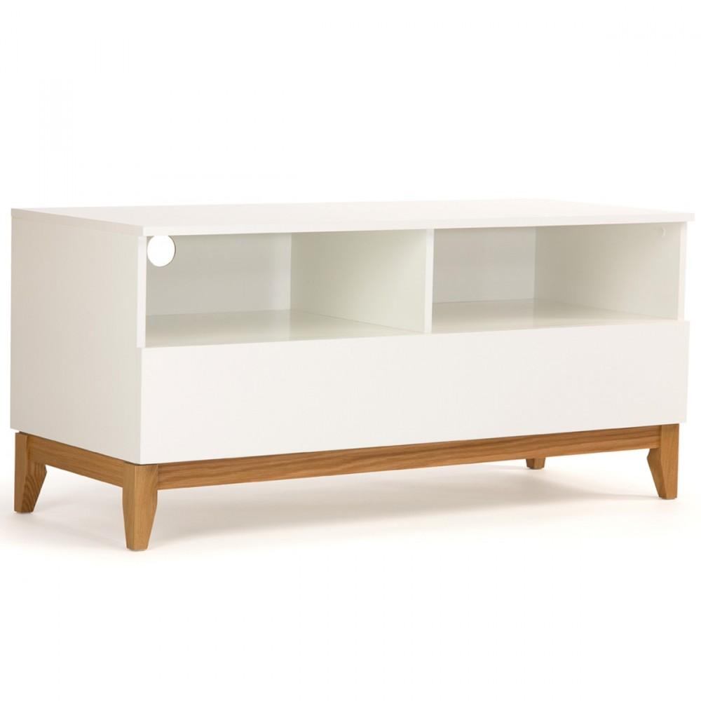 Meuble Tv Scandinave Arrondi Design D Int Rieur Et Inspiration  # Meuble Blanc Scandinave Artzein