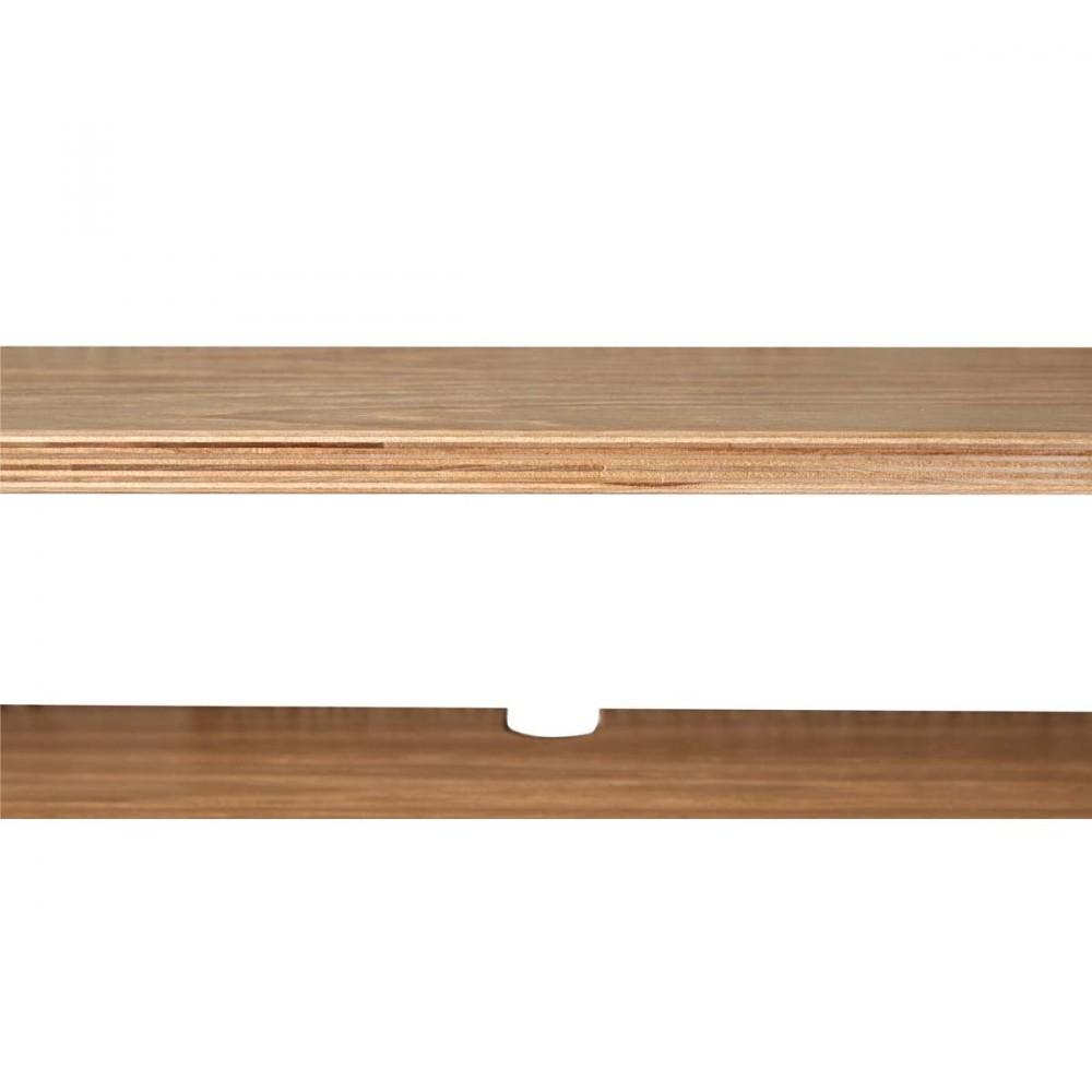 bureau fixer bois et m tal par. Black Bedroom Furniture Sets. Home Design Ideas