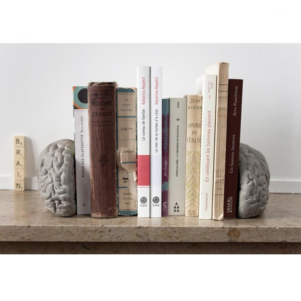 serre livres design en b ton gray matters by drawer. Black Bedroom Furniture Sets. Home Design Ideas