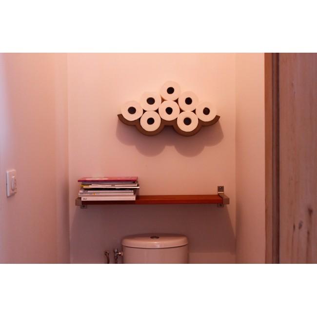 Etagère en béton rouleau papier WC Cloud S de Lyon Béton