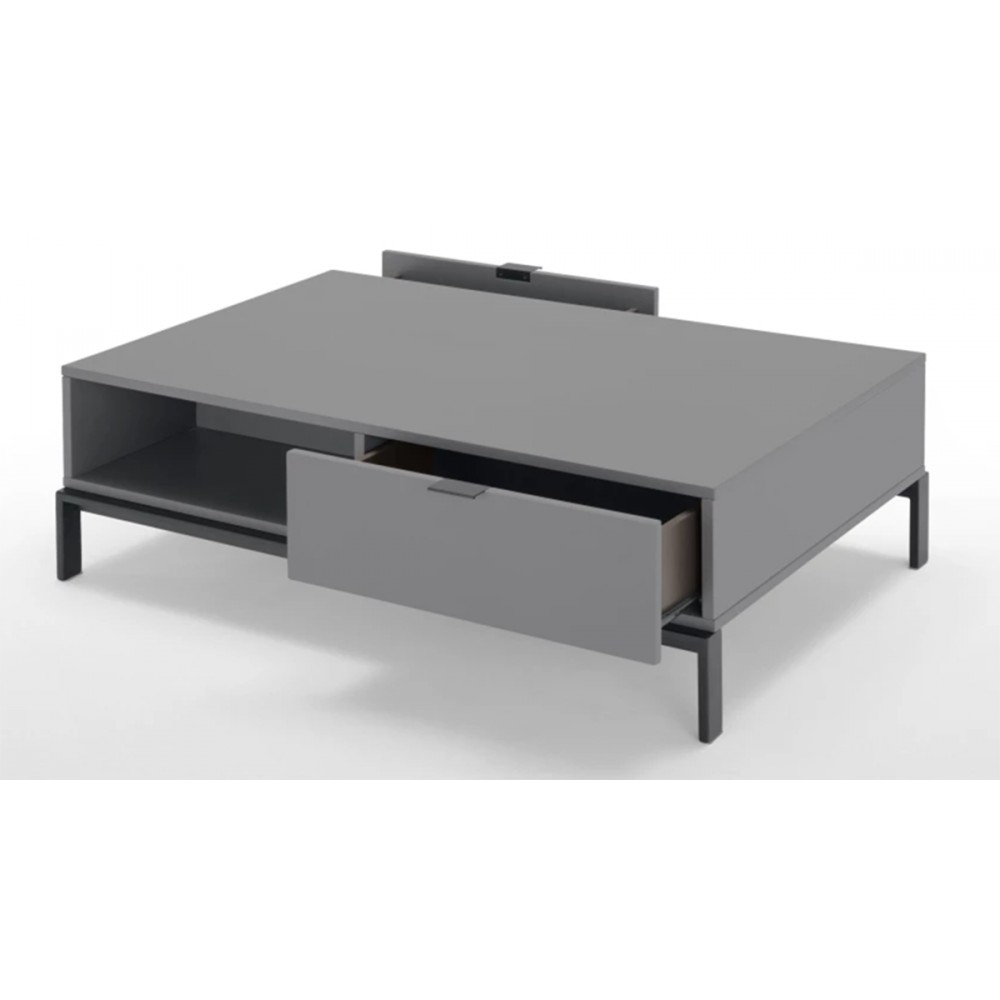 Table basse laquee but for Table basse relevable design