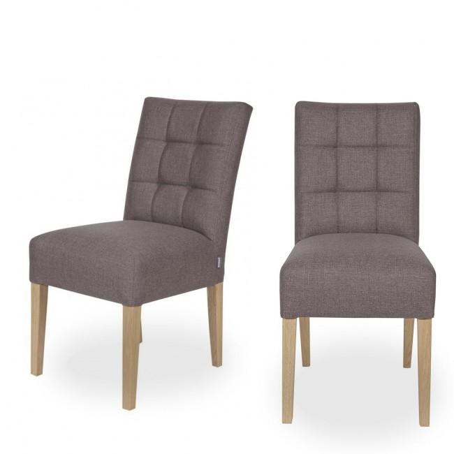 Lot de 2 chaises capitonnées Pauwel