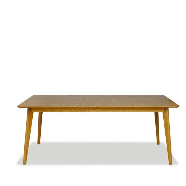 Table à manger scandinave en bois 180x80cm Skoll