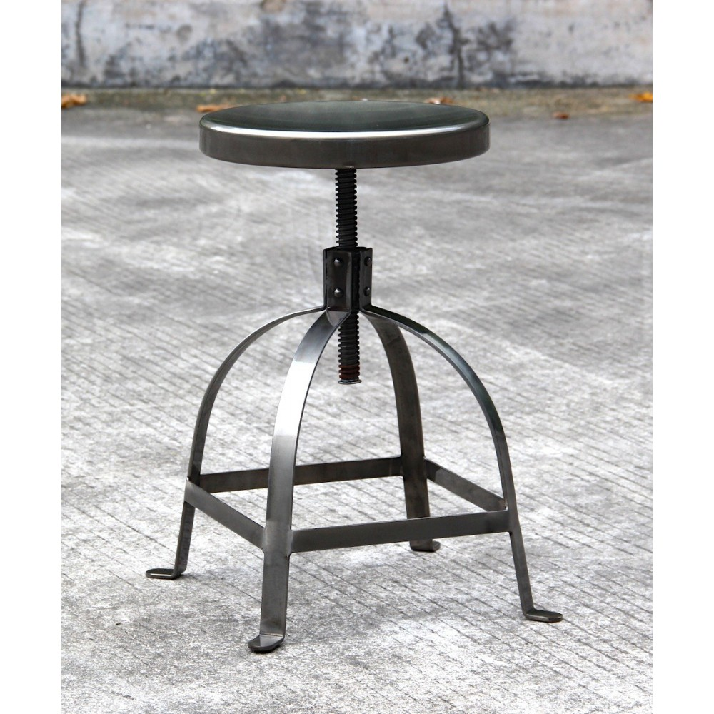 tabouret vis industriel henri ford by drawer. Black Bedroom Furniture Sets. Home Design Ideas