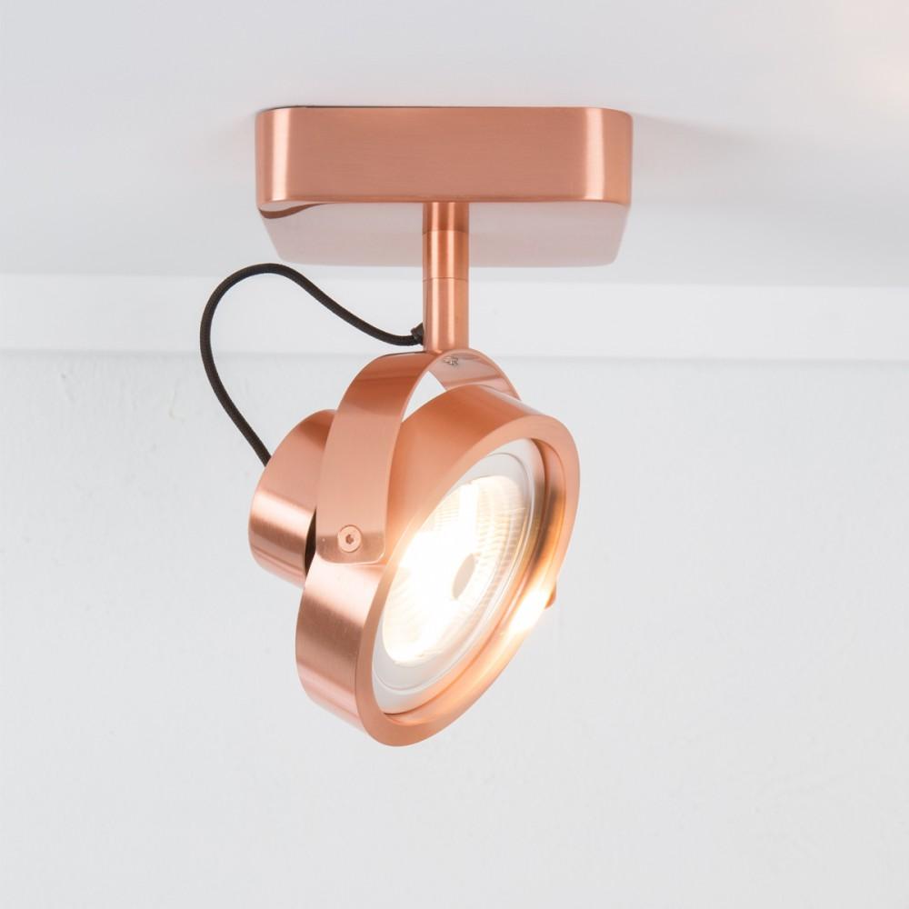 applique/plafonnier design led dice zuiver