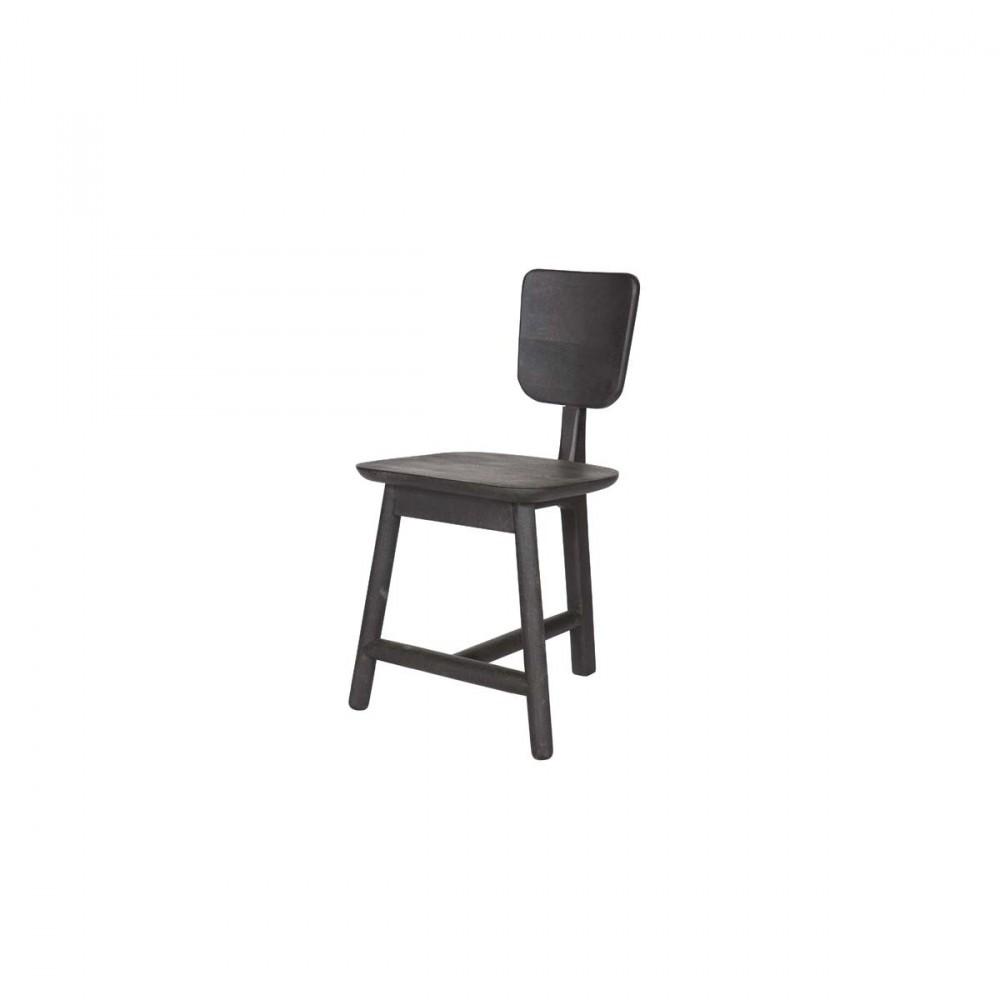 lot de 2 chaises 3 pieds en bois roost