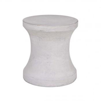 Table d'appoint béton diabolo Saam