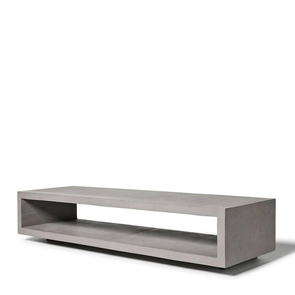 meuble tv en b ton monobloc by. Black Bedroom Furniture Sets. Home Design Ideas