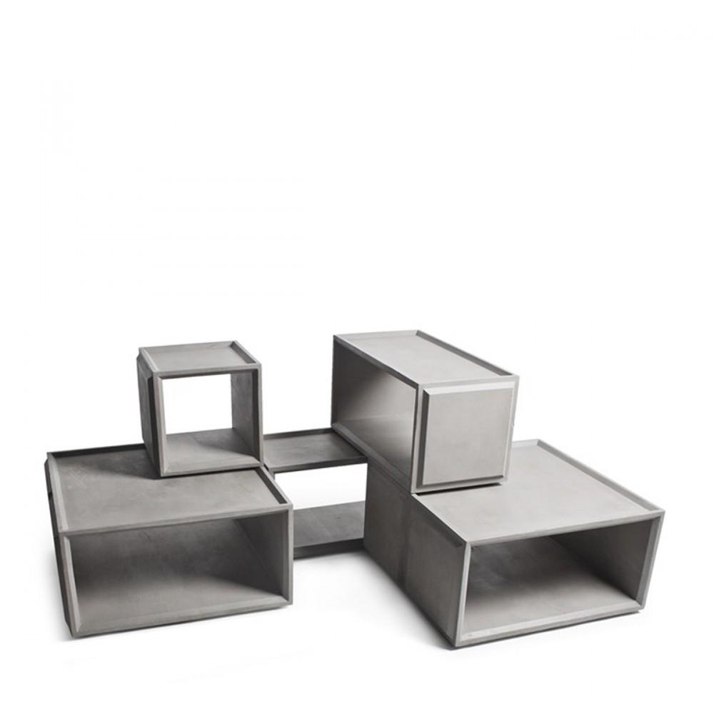 module de rangement en b ton plus s by. Black Bedroom Furniture Sets. Home Design Ideas