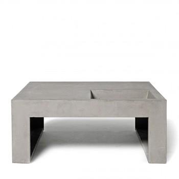 Table basse design moderne et contemporaine pour tous les for Table basse carree grise