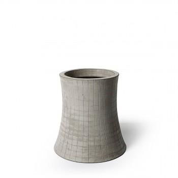 Vase en béton léger béton Nuclear Plant 16cm S