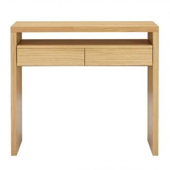 Table de bureau design drawer - Console profondeur 30 cm ...