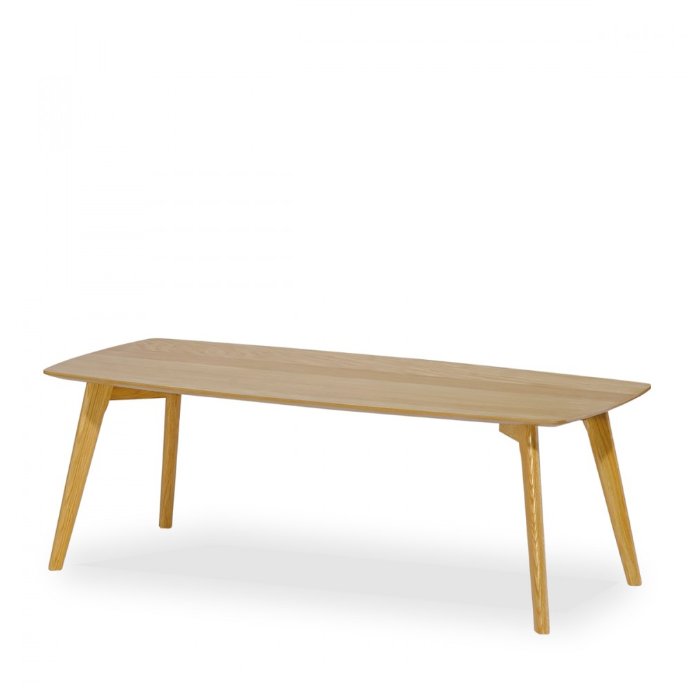 Table basse nordique en bois drawer for Meuble scandinave table basse