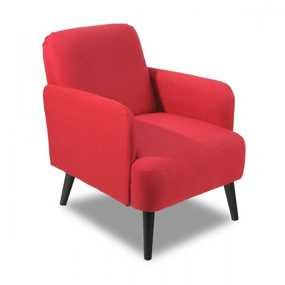 fauteuil r tro design brooks bleu by drawer. Black Bedroom Furniture Sets. Home Design Ideas