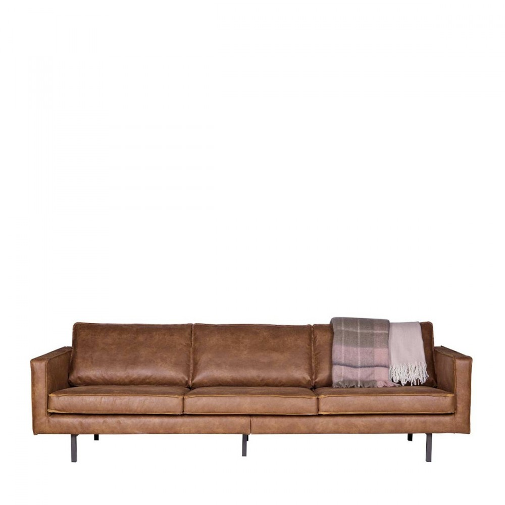 canap 3 4 places en cuir bronco par. Black Bedroom Furniture Sets. Home Design Ideas