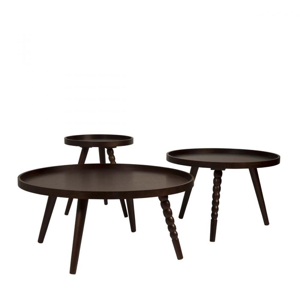 table basse noyer arabica s par. Black Bedroom Furniture Sets. Home Design Ideas