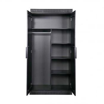 armoire dressing et penderies en bois massif drawer. Black Bedroom Furniture Sets. Home Design Ideas
