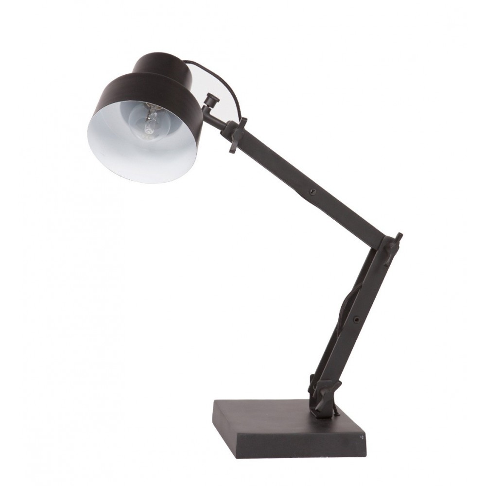 Lampe poser design en m tal beam par for Lampe a poser style industriel