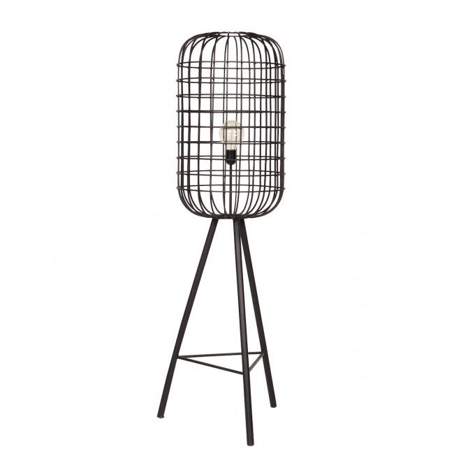 Lampadaire design cage en métal Hurricane