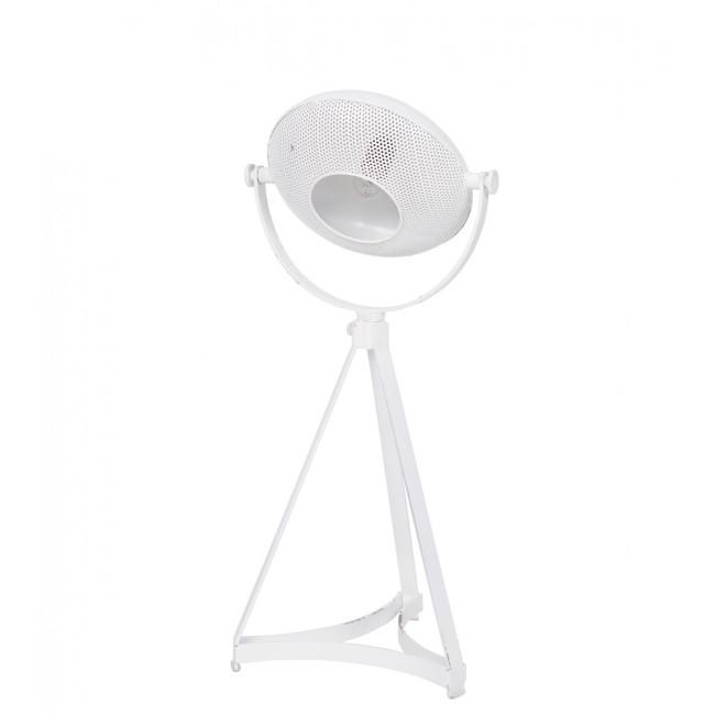 Lampe à poser en métal blanc Blown Projector