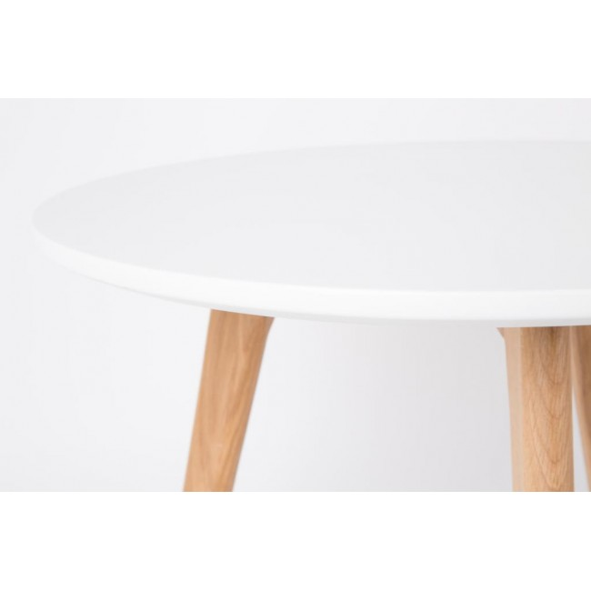 Lot de 2 tables d'appoint scandinave Bodine