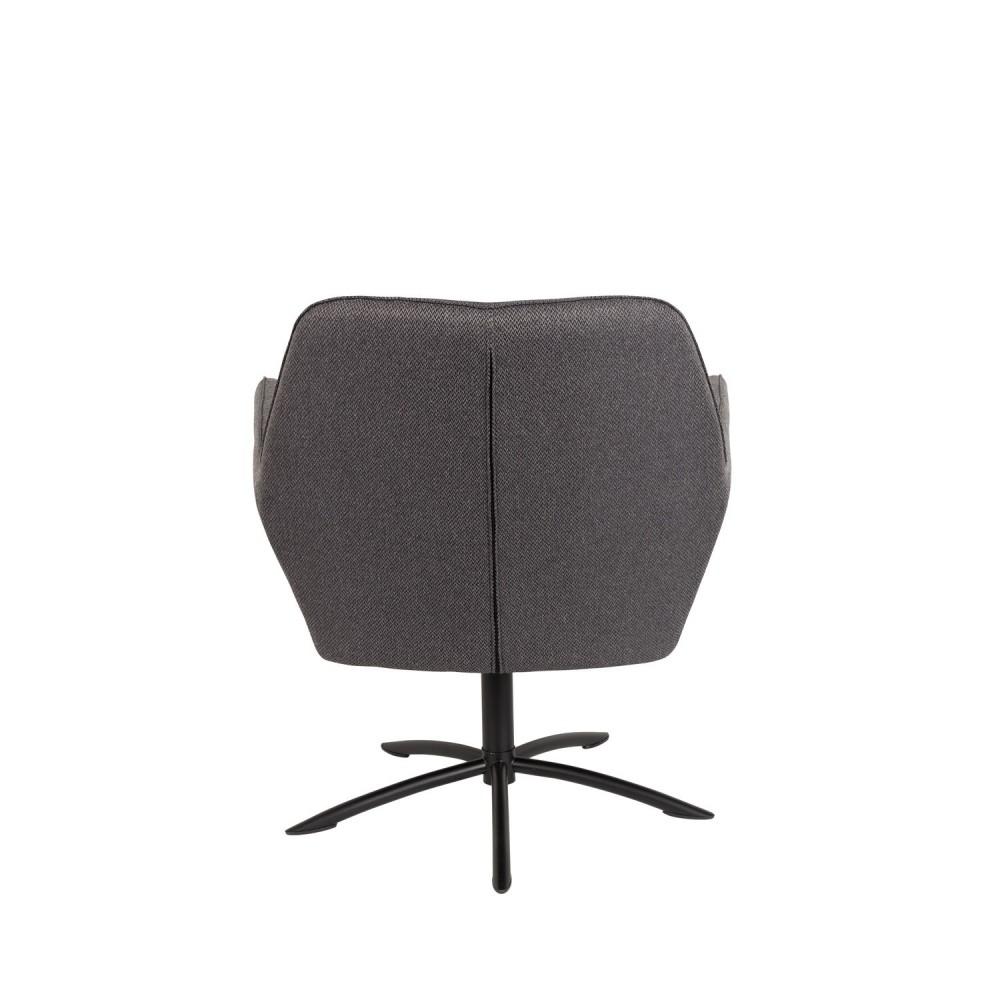 Fauteuil lounge pivotant knut par for Tout salon fauteuil