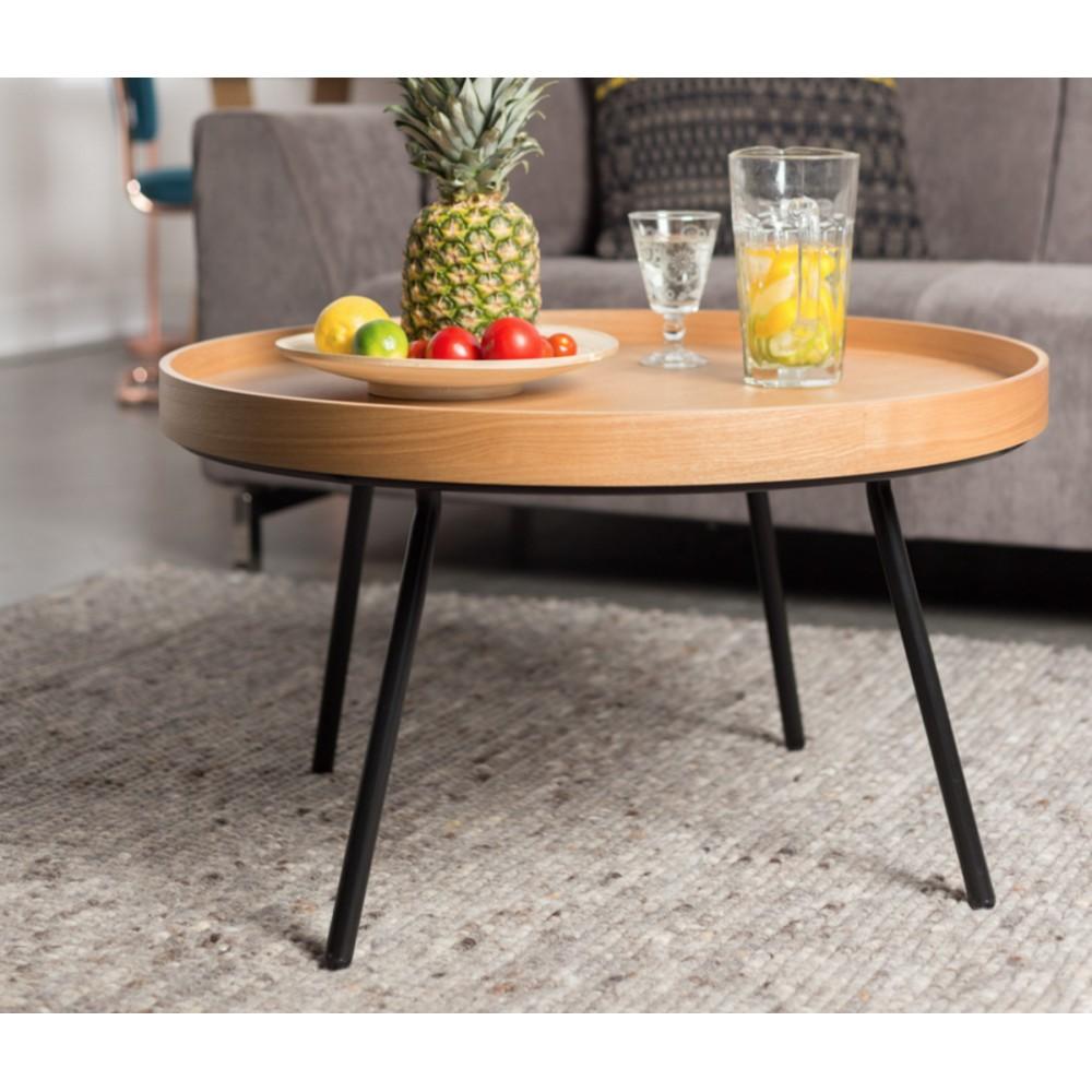 Fabulous Table Basse Plateau Amovible Chne Oak Tray With