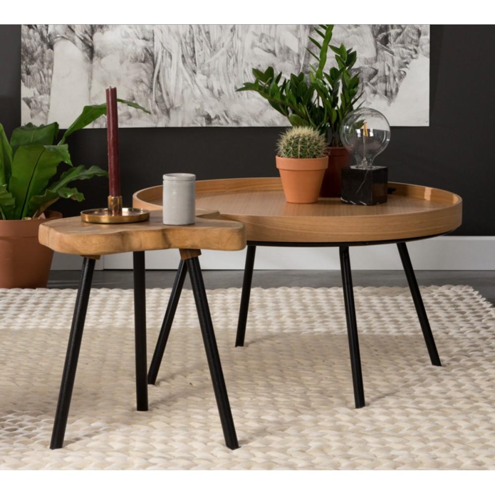 Table basse jardin plateau amovible - Plateau pour table de jardin ...
