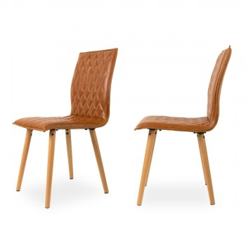 Lot de 2 chaises vintage Andy