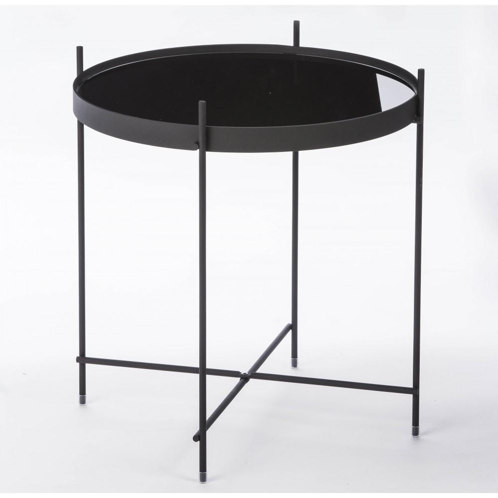 table basse design ronde cupid small en m tal zuiver. Black Bedroom Furniture Sets. Home Design Ideas