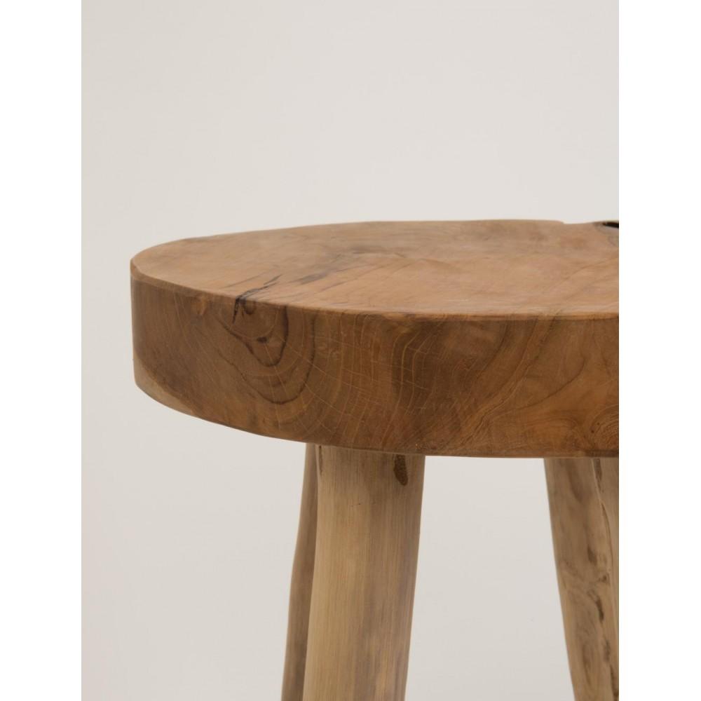 tabouret design en teck henry par. Black Bedroom Furniture Sets. Home Design Ideas