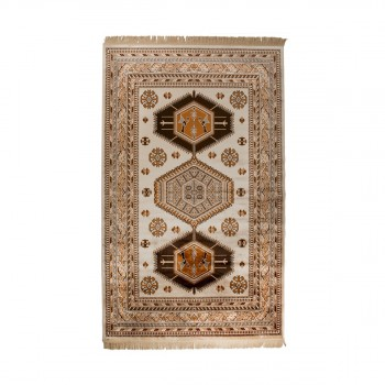 Tapis de salon Old Jar marron