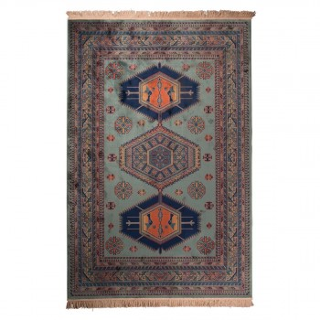 Tapis Marocain Style Berb Re 100 Laine Carry Patta