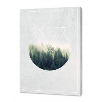 """Toile imprimée """"Forest jewel"""""""