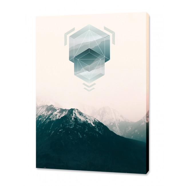"""Toile imprimée """"Landscape Jewel 2"""""""