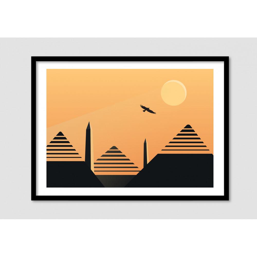 Affiche Minimaliste Desert Eagle Drawer