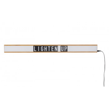 Applique lightbox personnalisable Saber