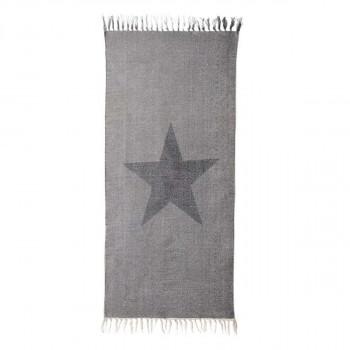 Tapis en coton imprimé Star 120x60 cm Bloomingville