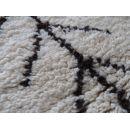 Tapis de salon style berbère en laine  beige et gris Carry Patta
