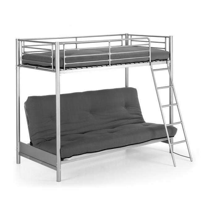 Lit superposé en métal avec canapé lit Feroe