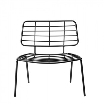 Chaise lounge design métal Mesh Bloomingville