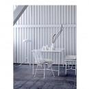 Table à manger design métal et marbre 200x90 Wonder