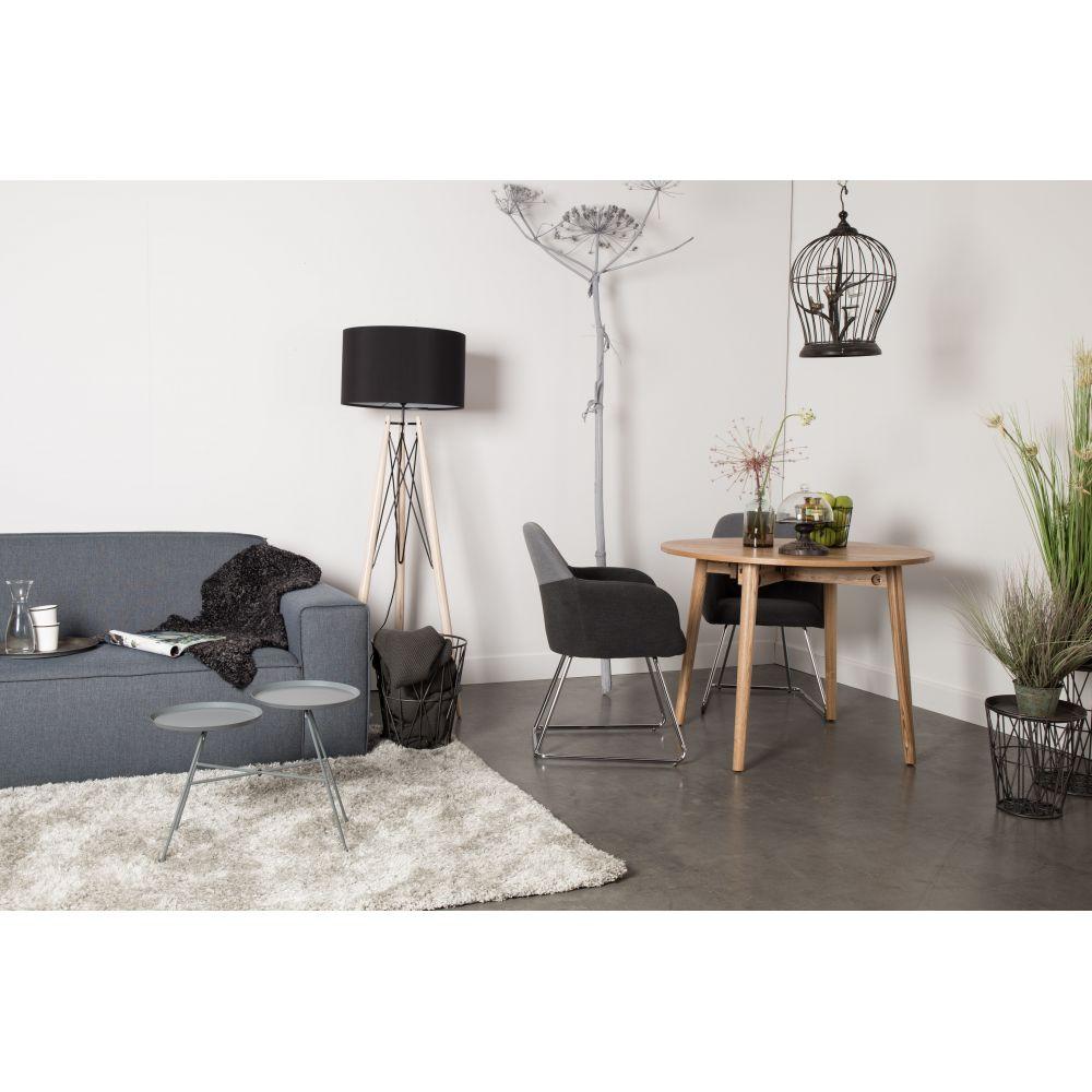 table manger ronde pliante en bois foldy 100. Black Bedroom Furniture Sets. Home Design Ideas