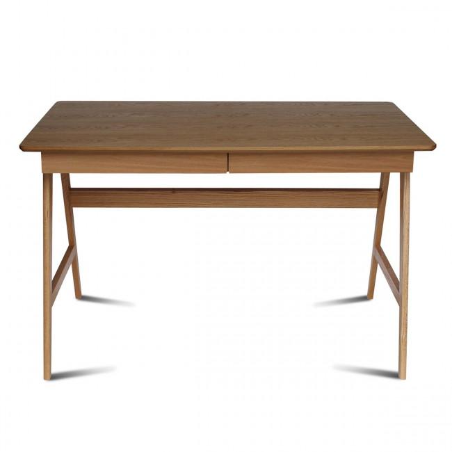 Bureau scandinave bois de chêne Skoll de Drawer