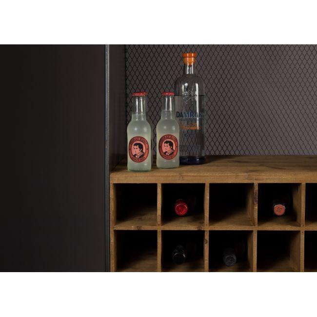 Armoire cave à vins métal et bois Vino Dutchbone