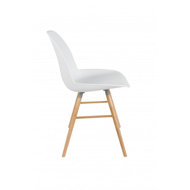 Lot de 2 chaises résine et bois Albert Kuip