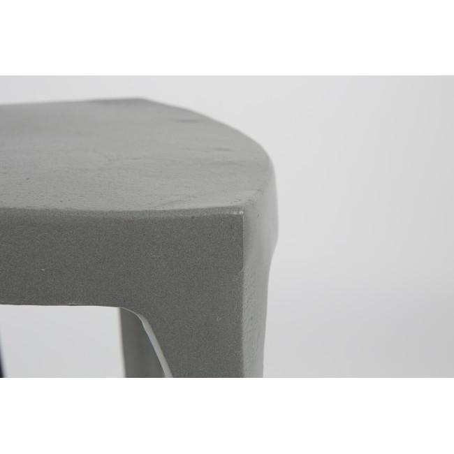 Lot 2 tables d'appoint aluminium Tiga